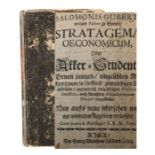 Gubert, Salomo Stratagema oeconomicum, Oder Akker-Student Denen jungen, ungeübten Akkers-Leuten in