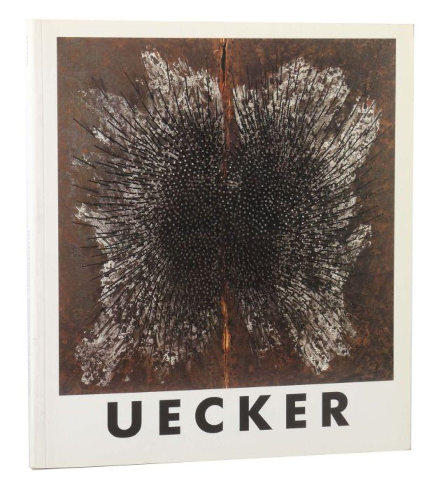 Signierter Ausstellungskatalog Günther Uecker UECKER - Wilhelm-Hack-Museum und Kunstverein