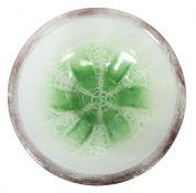 Ikora-Schale WMF, Geislingen, 1930er Jahre, farbloses Kristallglas, mundgeblasen,