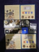 Two 1952-2012 The Queen's Diamond Jubilee Collection, UK and Commonwealth Coins, Stamps and Smallest