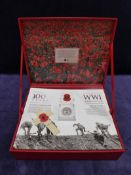 A Royal Mint 100 years WWI Armistice 1914-1918 Limited Edition Pack produced by Signature Gifts