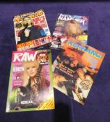 A large collection of Music Magazines from early 1980's to mid 1990's, including kerrang! 1983-