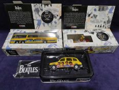 Corgi Classics, The Beatles Yellow Submarine 05401 boxed and certificate, Magical Mystery Tour Coach