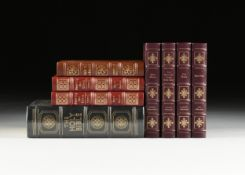 "A GROUP OF EIGHT EASTON PRESS TITLES FROM THE ""EPICS OF CHRISTIANITY"" SERIES, LATE 20TH CENTURY gilt"
