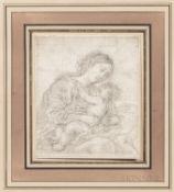 "Flemish School, 17th Century, Madonna and Child, Half-length View, Unsigned, inscribed ""H. van Balen"