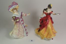 Two Royal Doulton figures HN3703 and HN3626