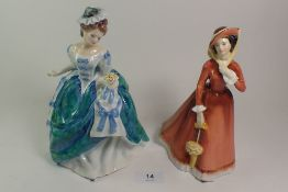 Two Royal Doulton figures HN3374 and HN2705