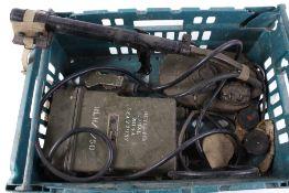 Vintage military mine detector No.4A, no. 19358
