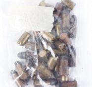 30 x assorted pinfire ball (inert) and blank cartridges