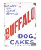Enamel 'Buffalo Dog' sign