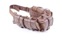 Leather Swedish Mauser (M1900) ammunition belt
