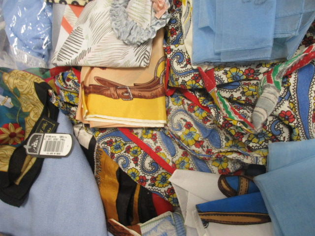 Lot 18 - A collection of ladies scarves, assorted designs and fabric, including examples by Total, Sammy,