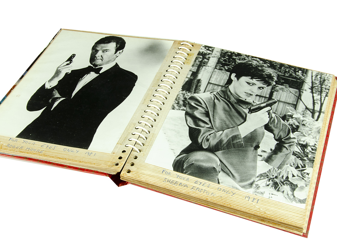 Lot 429 - James Bond / For Your Eyes Only, fifteen Black and white publicity and action photos probably for