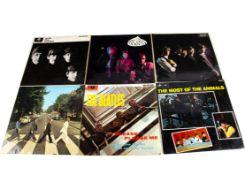 Sixties LPs, ten original albums of Sixties artists comprising The Beatles, Cream, Rolling Stones,