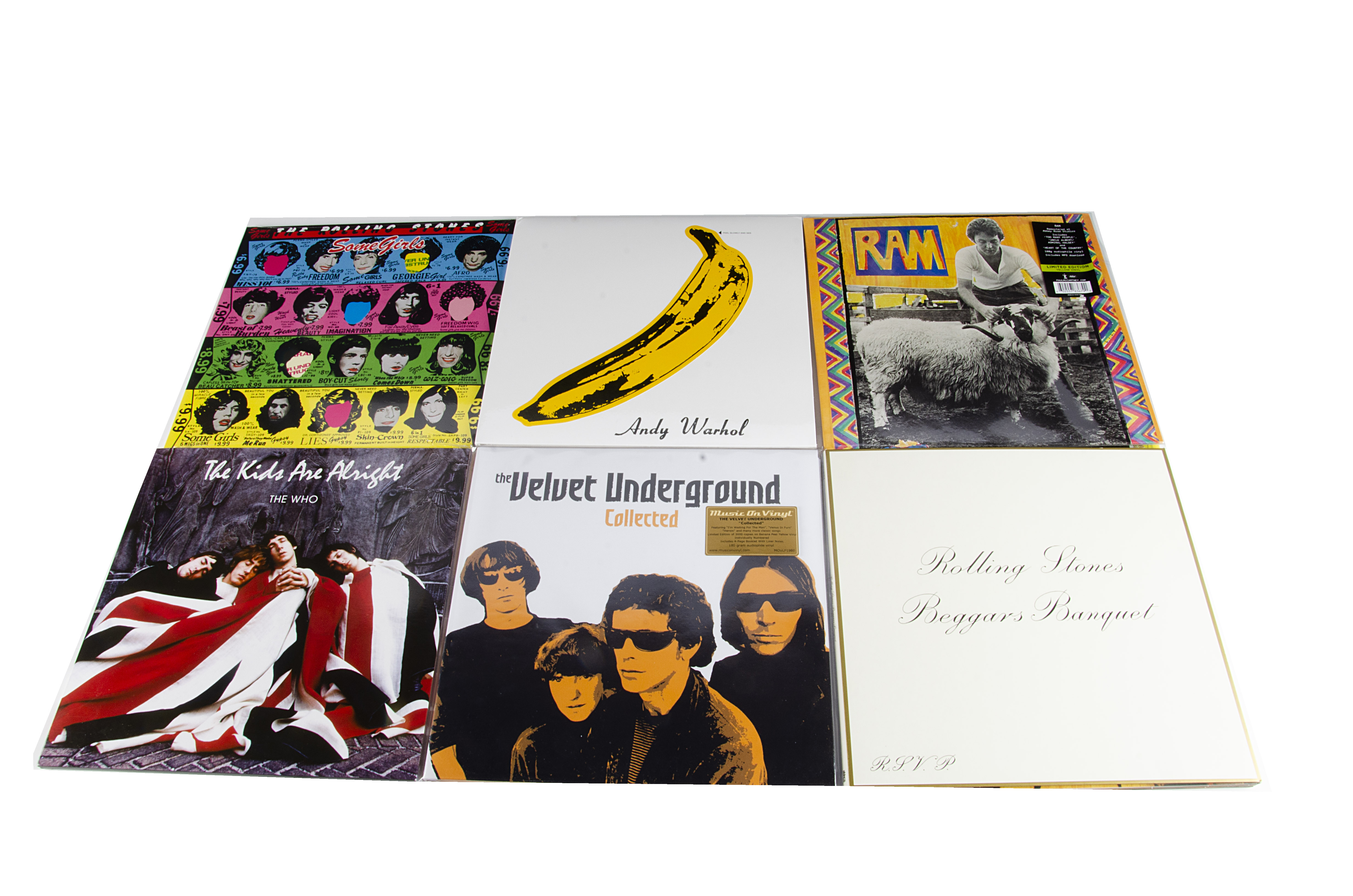 Sixties LPs, nine albums of coloured vinyl and special editions by Sixties artists comprising