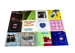 """Buzzcocks 7"""" Singles, complete run of the twelve UK stock release 7"""" Singles from Orgasm Addict ("""