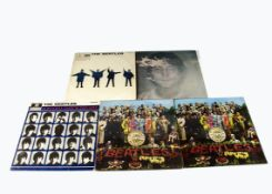 Beatles LPs, five Beatles and related albums comprising Help (UK Mono Original VG/EX), A Hard Day'