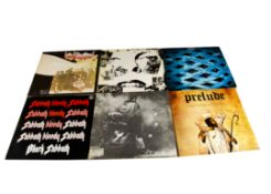 Progressive Rock LPs, twelve albums of mainly Classic and Prog Rock comprising The Who (Tommy and
