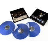 David Bowie Box Set, A Reality Tour - Three album Box set on Blue Vinyl with Inserts - all in EX+