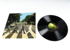 The Beatles LP, Abbey Road LP - UK First Press release on Apple 1969 - PCS 7088 - Fully Laminated