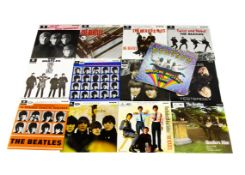 Beatles EPs, complete run of the thirteen UK release EPs from the 1970s reissue series from Twist