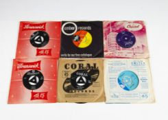 """Rock n Roll / Sixties 7"""" Singles, approximately one hundred and forty 7"""" singles of mainly Rock n"""
