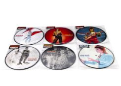 David Bowie Picture Discs, six picture disc singles from the 40th Anniversary 'star sticker' issue