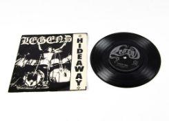 "Legend 7"" Single, Hideaway 7"" Single b/w Heaven Sent - Private UK release 1981 (LEG 1) - Picture"