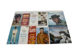 Elvis Presley EPs, approximately twenty-eight Australian Release EPs, all in Foldover picture