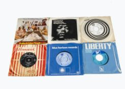 """Psych / Blues 7"""" Singles, approximately forty-five 7"""" singles of mainly Sixties Psych and Blues with"""