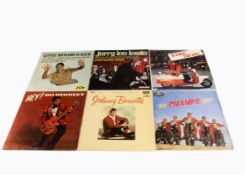 Rock n Roll LPs, approximately fifty-five albums of mainly Rock n Roll including many UK original