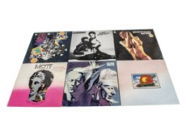 Rock LPs, approximately sixty-five albums of mainly Classic Rock and New Wave with artists including