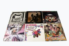 Sixties LPs, ten albums of mainly Sixties artists comprising The Hollies, Small Faces, Wynder K