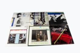 Jazz LPs, approximately one hundred and sixty albums of mainly Jazz with artists including Gerry