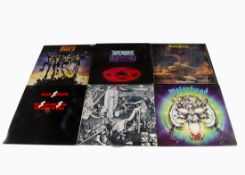 Rock / Prog LPs, fifteen albums of mainly Classic Rock and Prog with artists comprising Black
