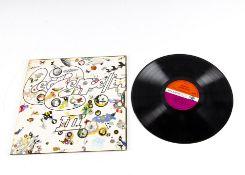 Led Zeppelin LP, Led Zeppelin III LP - Original UK First Press Release 1970 on Atlantic (2401002) A5