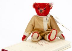 A Steiff limited edition Pocket Alfonzo 2012, for Teddy Bears of Witney, 214 of 1908 (no box or