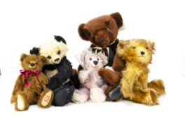 A Merrythought Artist Proof Edition Jeremy teddy bear, 5 of 6 for the 3rd Annual Open Day with