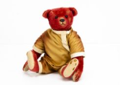 A Steiff limited edition Centenary Alfonzo 2008, for Teddy Bears of Witney, 319 of 1908 (no box or