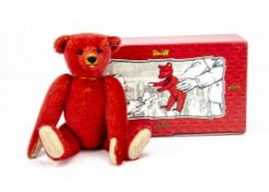 A Steiff limited edition for Russia Alfonso 100th Jubilee, 340 of 1000, in original box with