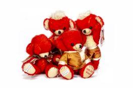 Merrythought Alfonzo Cheekies for Teddy Bears of Witney, Witney Cheeky Bear, 154 of 250; Witney