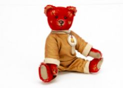 A small Alfonzo for Teddy Bears of Witney, with tag --8in. (20.5cm.) high