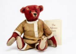 A Steiff limited edition Centenary Alfonzo 2008, for Teddy Bears of Witney, 829 of 1908 (no box or
