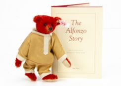 A Steiff limited edition Pocket Alfonzo 2012, for Teddy Bears of Witney, 244 of 1908 (no box or