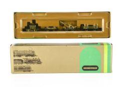 Minitrix Continental N Gauge Royal Bavarian Railway Track Maintenance Set, a boxed 11015 set