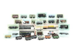 Peco and Lima N Gauge Goods Wagons, various goods wagons including private owner, LMS and others,