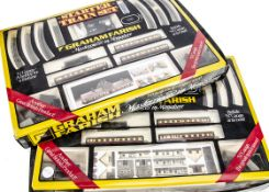 Two Graham Farish N Gauge BR Steam Train Sets, both boxed 8541 Pannier tank passenger sets each with