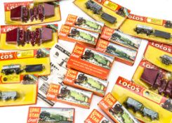 Lone Star 000 N Gauge Electric and Push-a-long boxed Locomotives and Rolling Stock, including