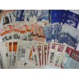 1960's PROGRAMMES, 1960-1970, a collection of 203 football programmes from the period. SHEFFIELD