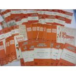 BARNSLEY, 1960-1970, a collection of 96 football programmes from the 1960's. 1960/1961 (3) including